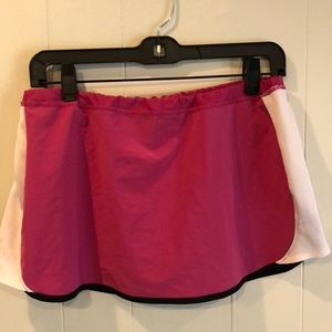 Dresses & Skirts - Pink and white tennis skirt